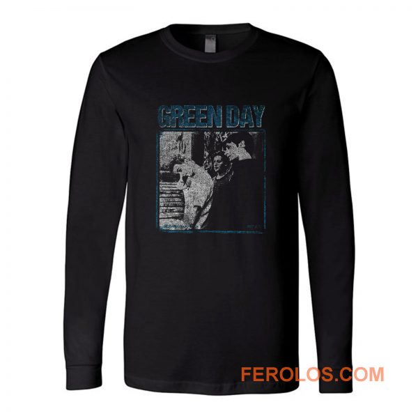 Green Day Vintage Retro Band Long Sleeve
