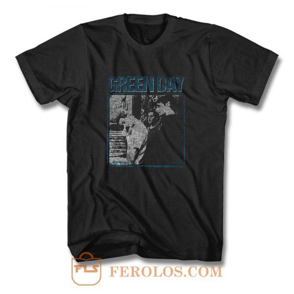 Green Day Vintage Retro Band T Shirt
