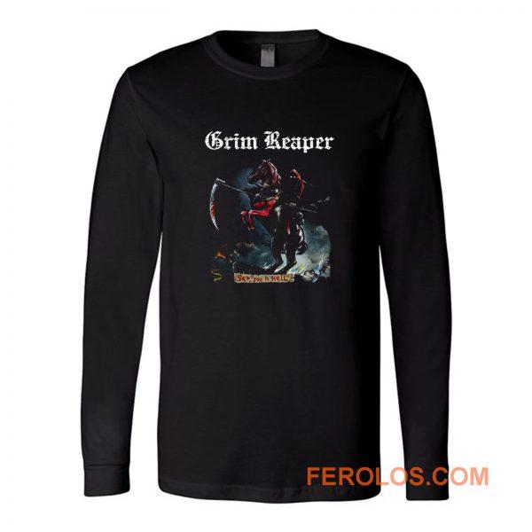 Grim Reaper See You In Hell 1983 Audioslave Long Sleeve