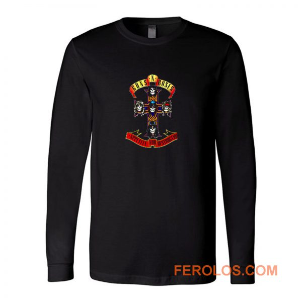 Guns N Roses Appetite Long Sleeve