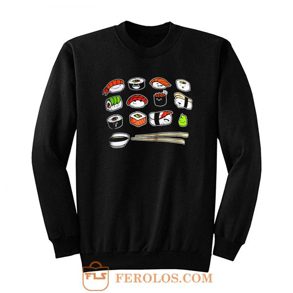 Happy Sushi Sweatshirt
