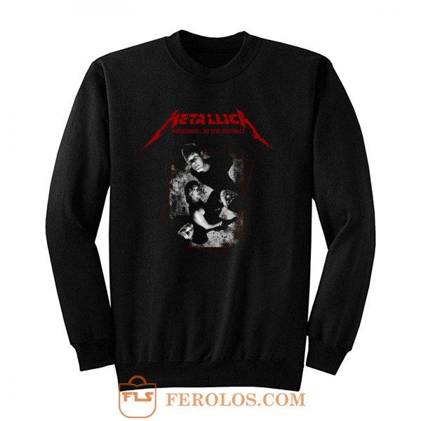 Hardwired To Self Destruct Metallica Band Sweatshirt