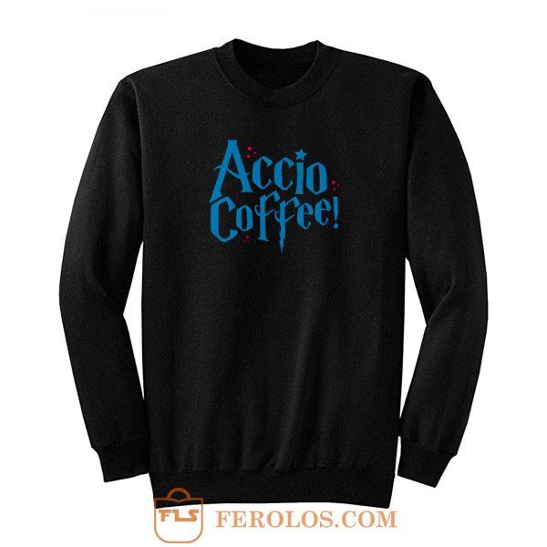 Harry Potter Accio Coffee Sweatshirt