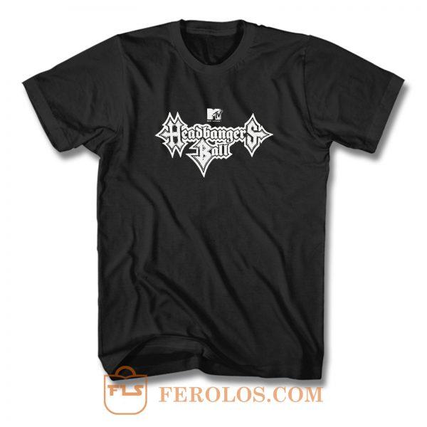 Headbangers Ball Logo T Shirt