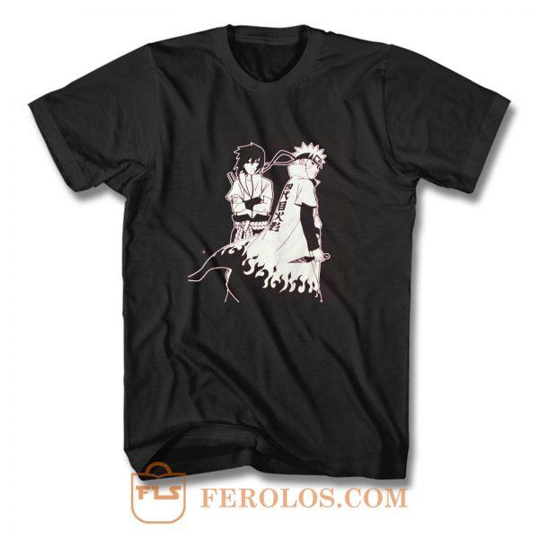 Hokage Sasuke And Naruto T Shirt