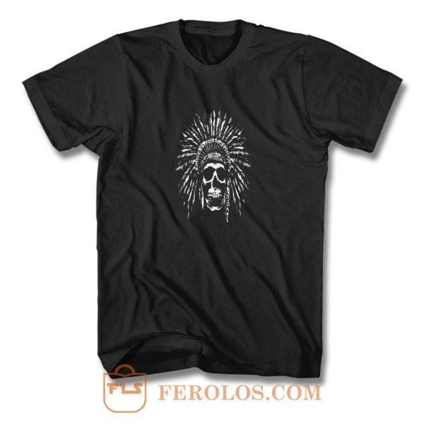 Indians Skull Natives T Shirt