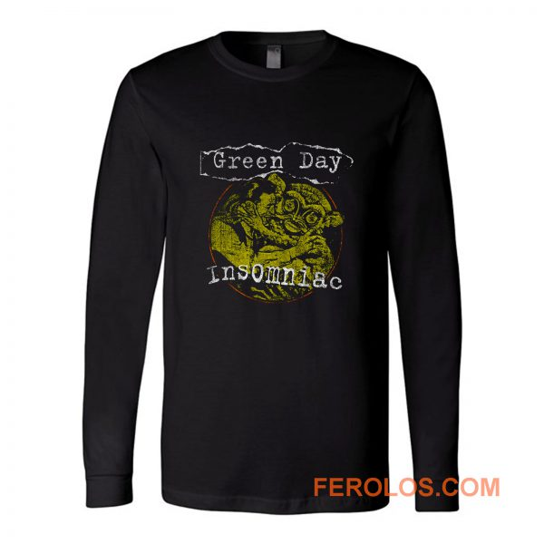 Insomniac Green Day Band Long Sleeve