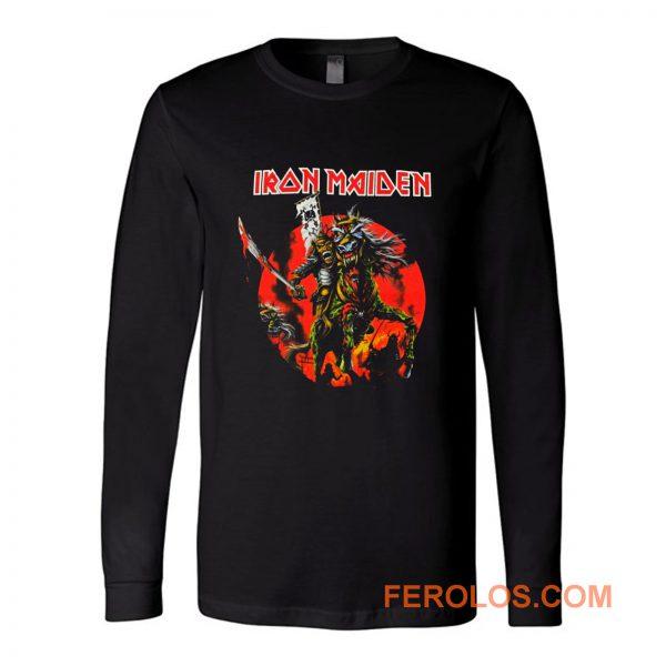 Iron Maiden Skull Samurai Long Sleeve