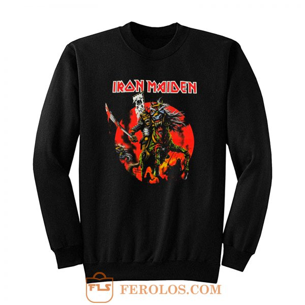 Iron Maiden Skull Samurai Sweatshirt