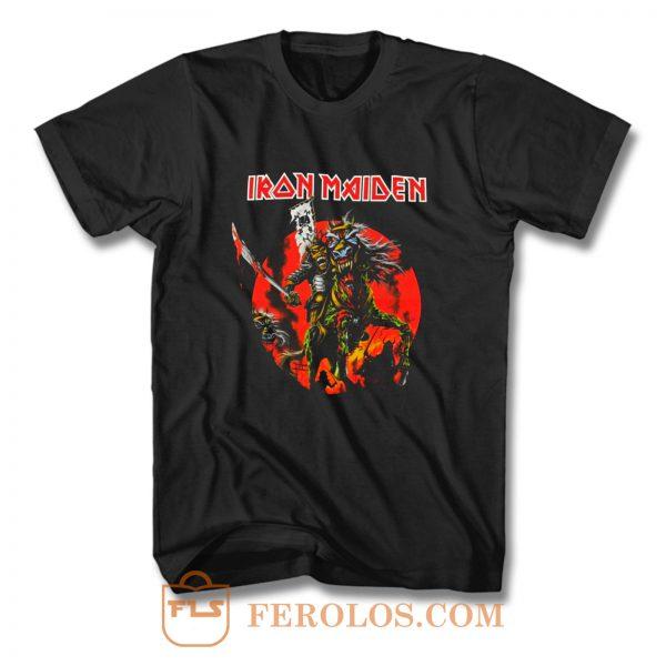 Iron Maiden Skull Samurai T Shirt