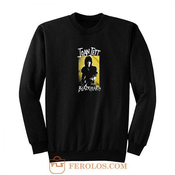 Joan Jett And Blackhearts Retro Band Sweatshirt