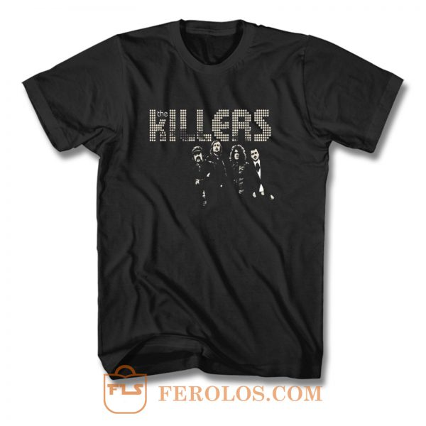 Killers Indie Rock Band T Shirt