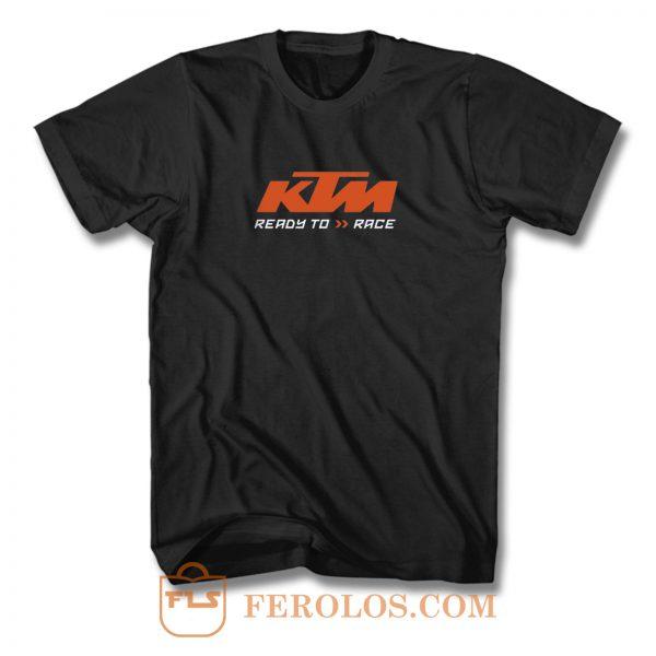 Ktm Ready To Race T Shirt