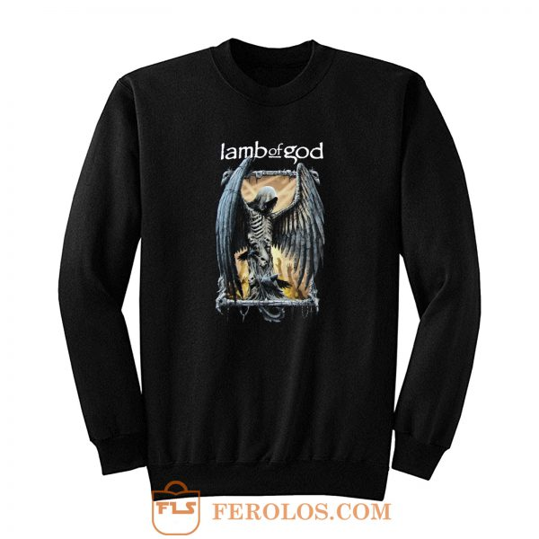 Lab Of God Skull Demon Sweatshirt