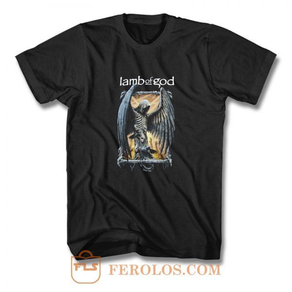 Lab Of God Skull Demon T Shirt