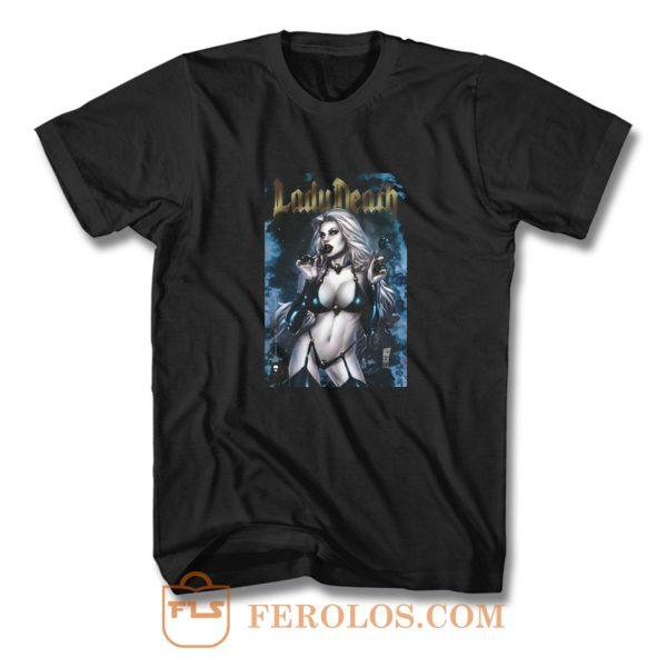 Lady Death T Shirt