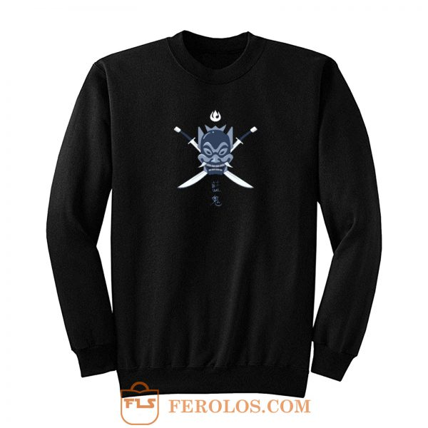 Legend Of Blue Samurai Avatar The Last Airbender Sweatshirt