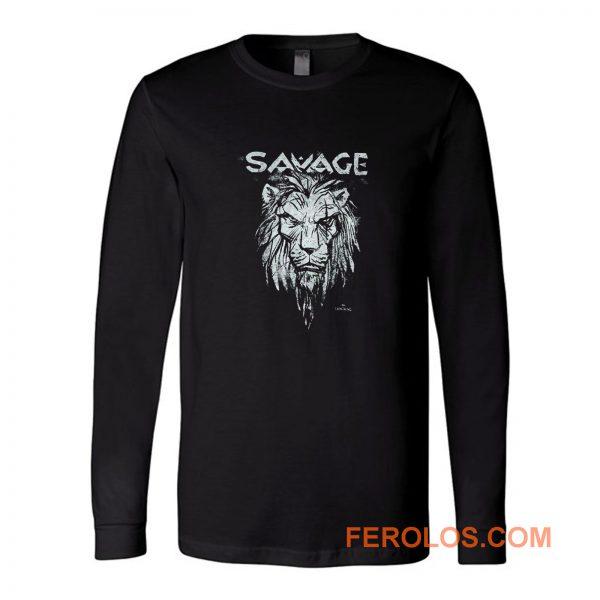 Lion Savage Long Sleeve