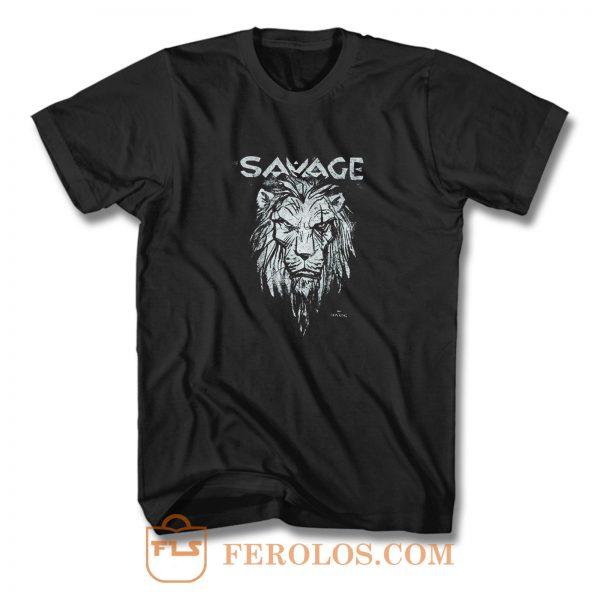 Lion Savage T Shirt