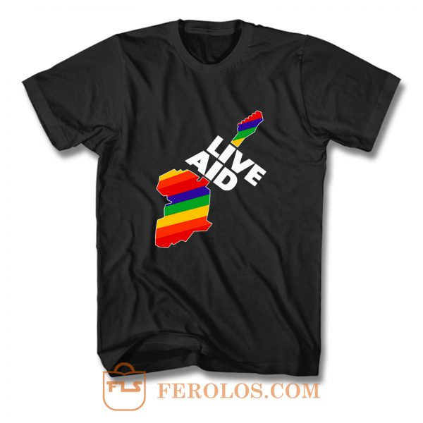 Live Aid T Shirt