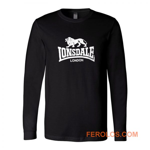 Lonsdale Classic Logo Lion Long Sleeve