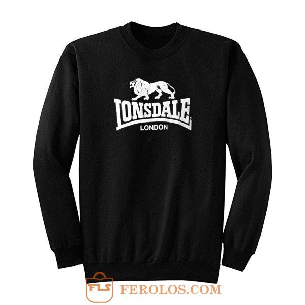 Lonsdale Classic Logo Lion Sweatshirt