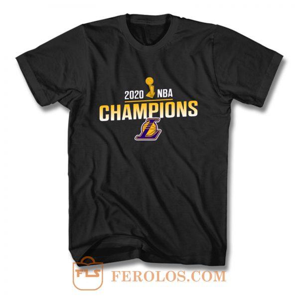 Los Angeles Lakers 2020 NBA Champions T Shirt