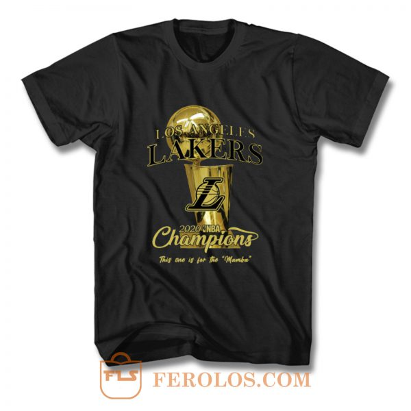 Los Angeles Lakers 2020 NBA Finals Champions T Shirt