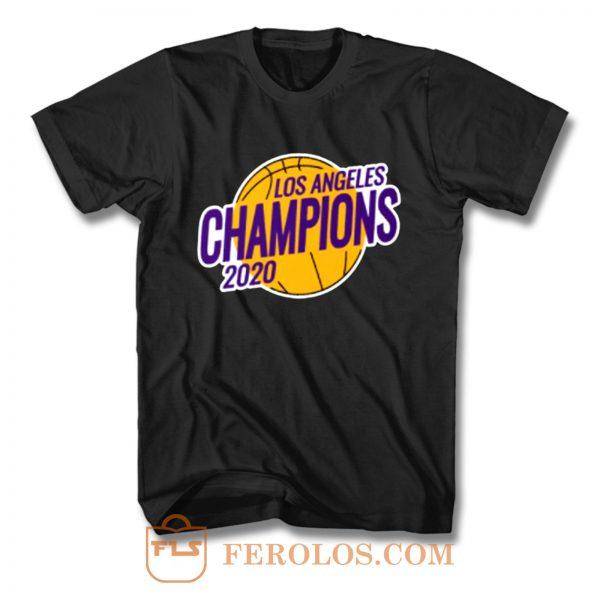 Los Angels NBA Champions 2020 T Shirt
