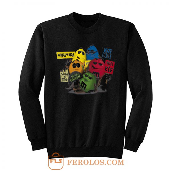 M N Ms Candy Chocolate Retro Sweatshirt