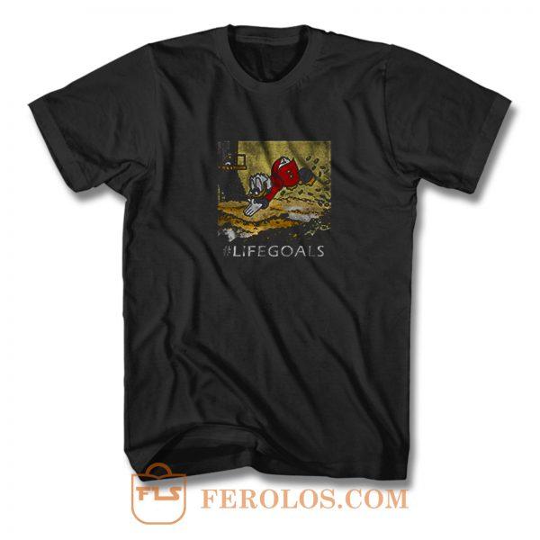 Macduck Life Goals T Shirt