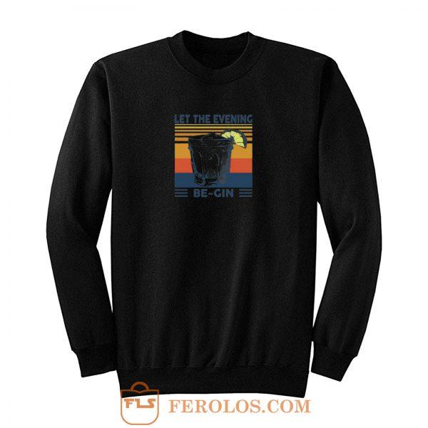 Martini Cocktail Sweatshirt