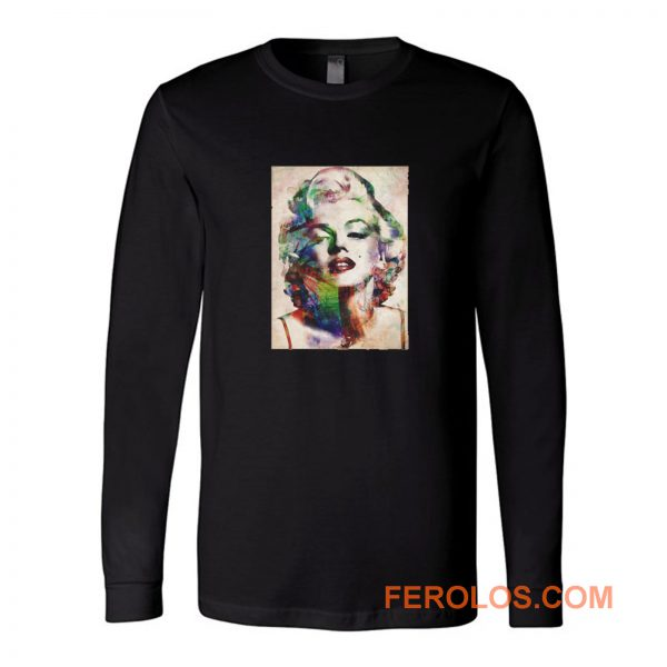 Marylin Monroe American Actrees Long Sleeve