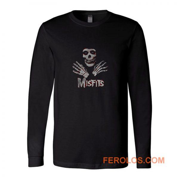 Misfits Skull Long Sleeve