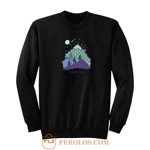 Mountain Unplug Sweatshirt