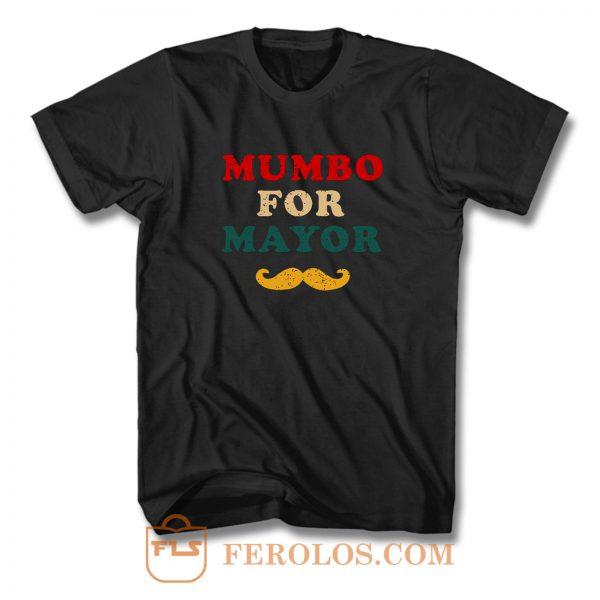 Mumbo For Mayor Beard Funny Vintage T Shirt