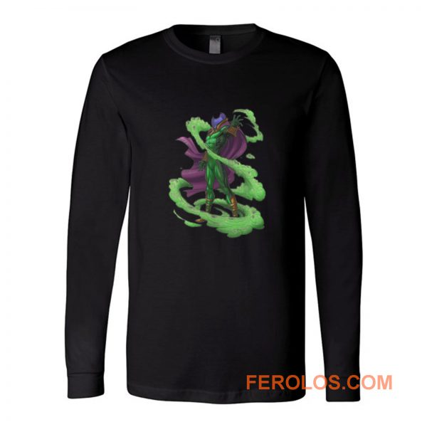 Mysterio Spiderman Enemy Long Sleeve