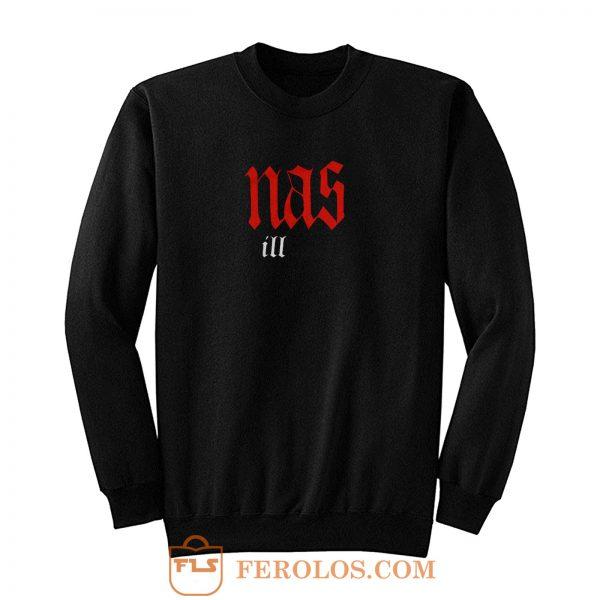 Nas Illmatic 90s Hip Hop Rap Sweatshirt