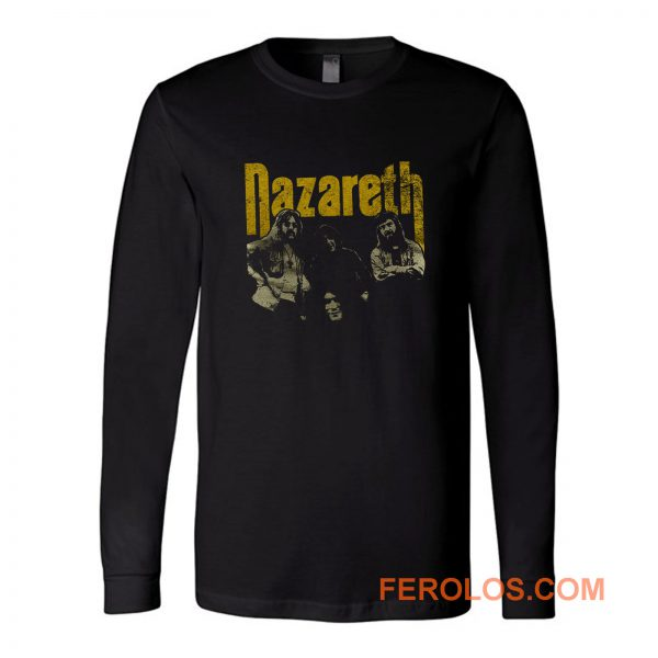 Nazareth Rock Band Long Sleeve