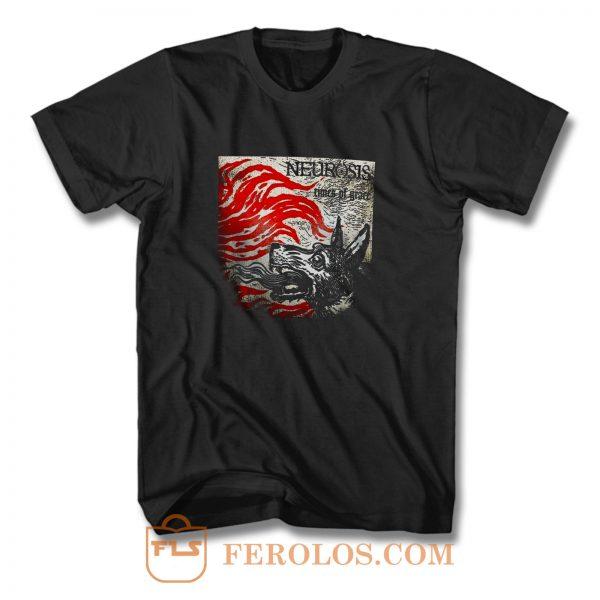 Neurosis Band Times Of Grace Album T Shirt