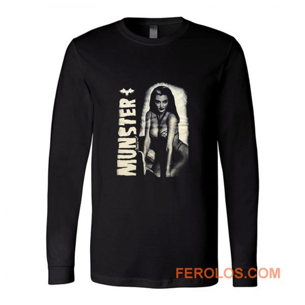 New Sexy Lilly Munster Long Sleeve