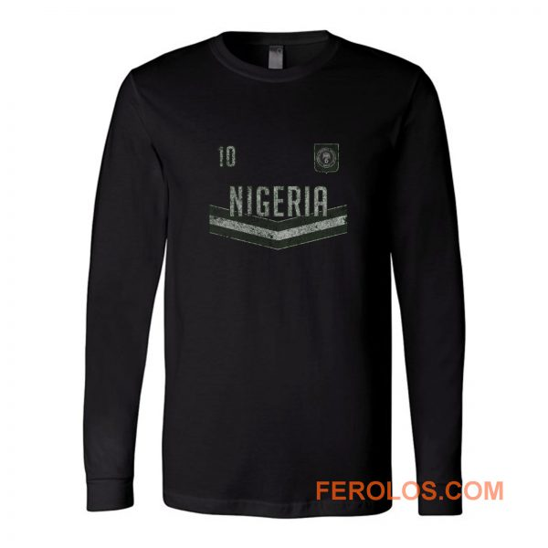 Nigeria Football Long Sleeve