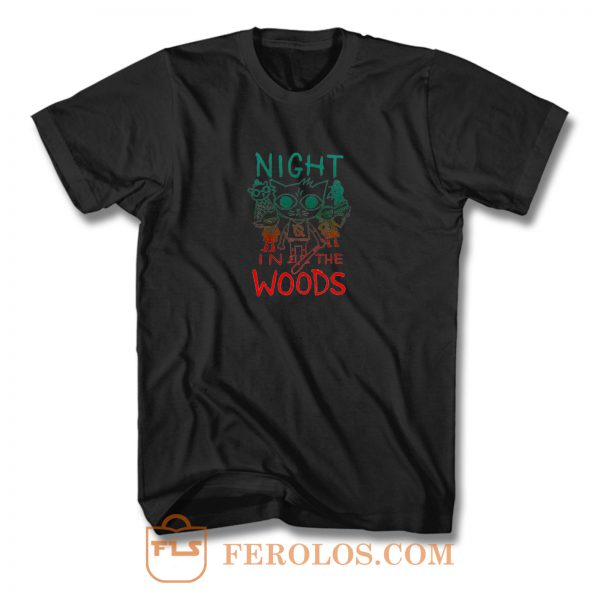 Night In The Woods Vintage T Shirt