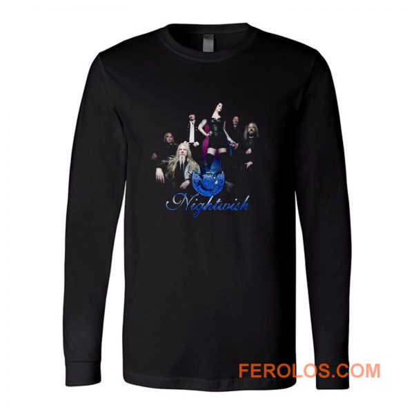 Nightwish Band Tuomas Holopainen Floor Jansen Long Sleeve