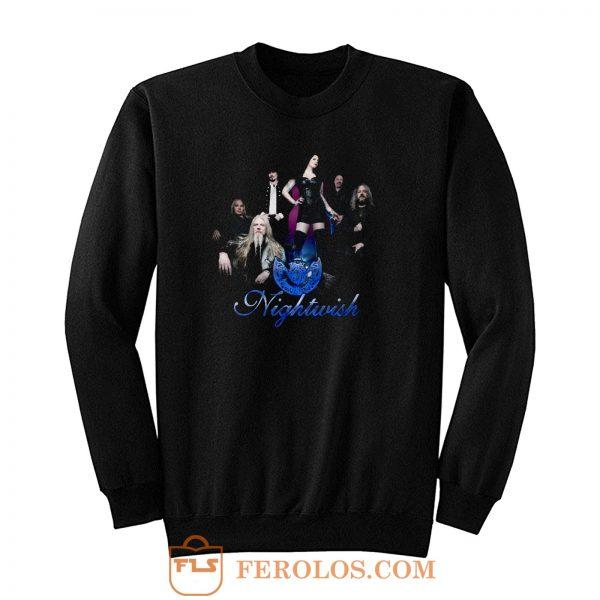 Nightwish Band Tuomas Holopainen Floor Jansen Sweatshirt