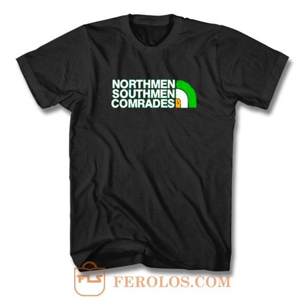 Northman Southman Comrades Celtic Fc Fan T Shirt