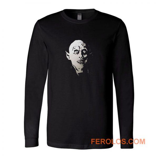 Nosferatu The Vampire Retro Long Sleeve