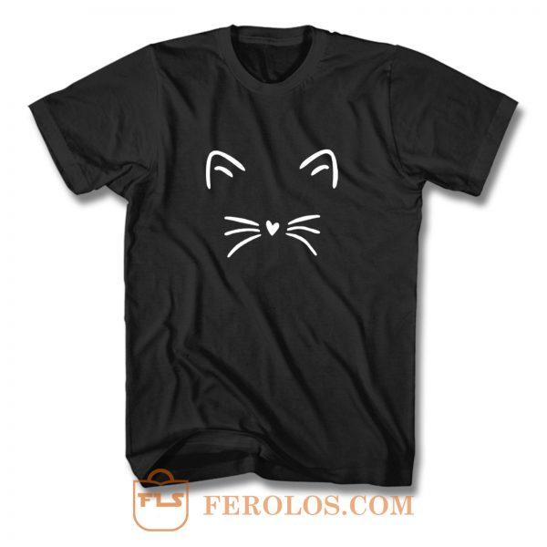 Not Eyes Cat T Shirt