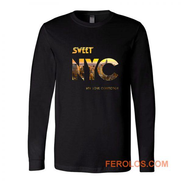 Nyc New York The Sweet Band Long Sleeve