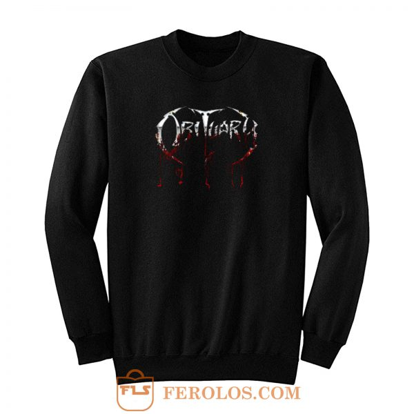 Obituary Metal Band Sweatshirt
